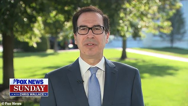 Treasurey Secretary Steven Mnuchin said on 'Fox News Sunday' that Republicans and House Speaker Nancy Pelosi have a deal and will fund the government through early December, avoiding a shutdown for now