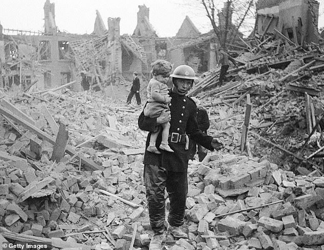 Seven firemen have perished in the flames and thousands have been made homeless. The first day of the Blitz will be known as Black Saturday