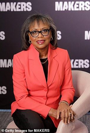 Pictured; Anita Hill