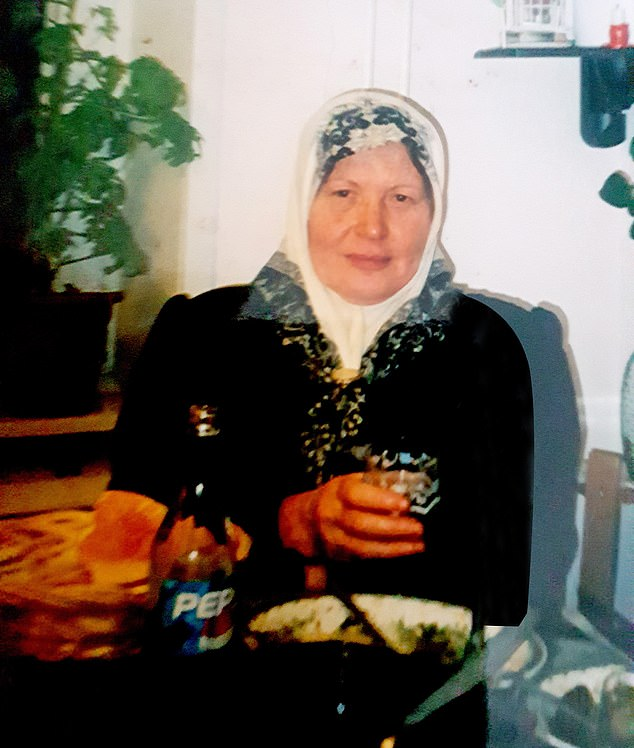 Their 74-year-old grandmother, Suhaila Al-Allaf (pictured), also died in the September 2012 bloodbath, along with local cyclist Sylvian Mollier, 45