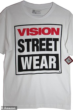 T-shirt with Vision Street Wear logo