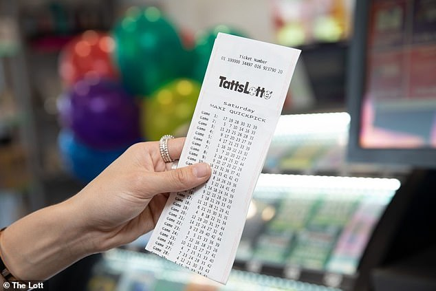 The Melbourne woman held one of the five division one winning entries nationally in TattsLotto's $20 million Superdraw draw 4083 on Saturday