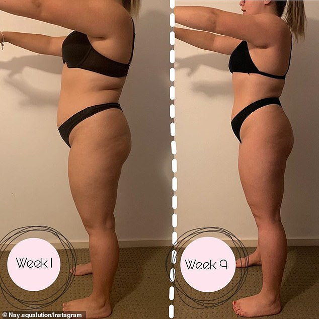 Determined to get on top of her weight once and for all, she shed 35 kilos within 12 months just by counting her macros rather than follow strict diets