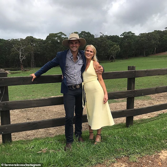 Decision: It comes after Alex explained in the Farmer Wants a Wife finale two months ago why he'd decided to dump Jess (right) for Henrietta. 'I just kept on starting to feel that I could only see her as my friend. I couldn't see this romance blossoming that I was craving,' he said