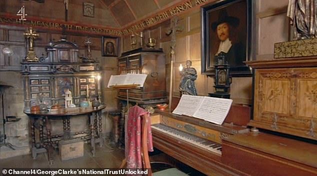 Charles' motto was 'let nothing perish' - the result was a collection of over 22, 000 items which are kept clean by a team of just five staff who put in over 1, 000 items of dusting a year. Pictured, some of the collectibles