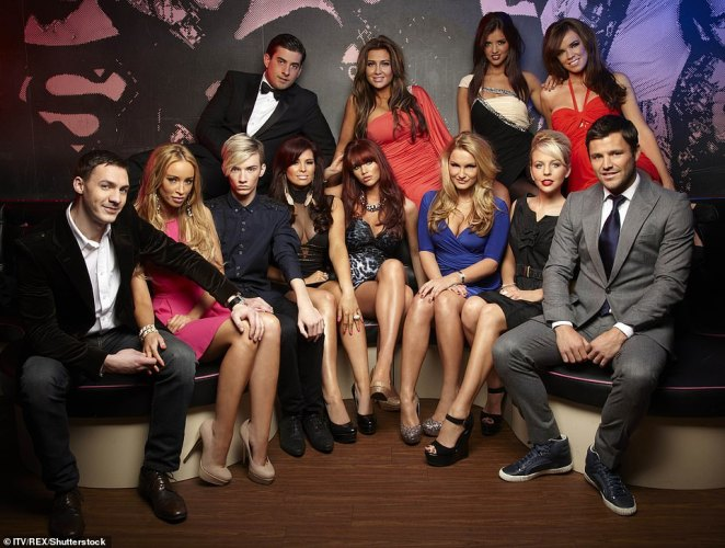 The Only Way Is Up? We take a look at the trials and tribulations of the TOWIE elite over the past decade... (pictured: L-R (Top)  James Argent, Lauren Goodger, Lucy Mecklenburgh, Maria Fowler. L-R (Bottom) - Kirk Norcross, Lauren Pope, Harry Derbidge, Jessica [Jess] Wright, Amy Childs, Sam Faiers, Lydia Bright and Mark Wright)