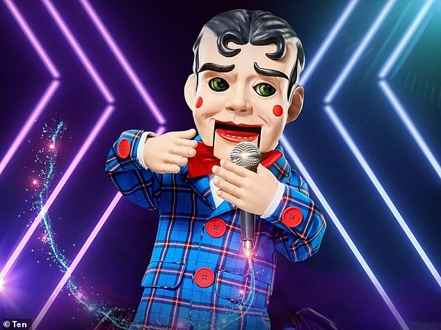 Who are you?On Monday night's episode of The Masked Singer Australia, the Puppet was finally revealed