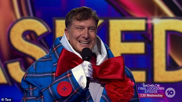The red Wiggle! And it was none other than The Wiggles performer Simon Pryce (pictured)