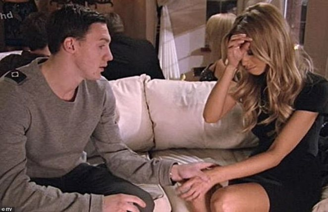 Tough times:Lauren started her TOWIE journey with nightclub worker and lead character Kirk Norcross