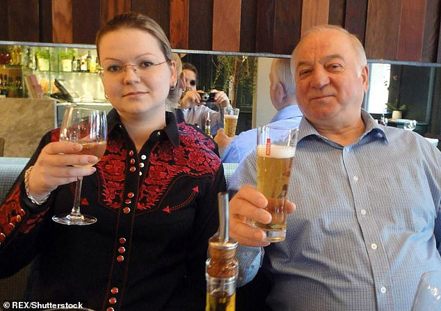 British authorities identified the Soviet-era Novichok as the poison used on former Russian spy Sergei Skripal and his daughter in England in 2018