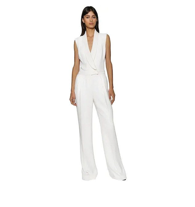 BEST FOR UNCONVENTIONAL BRIDES: A favourite of celebrities and royals alike, Ralph & Russo does not disappoint with this bridal jumpsuit. Available at luisaviaroma.com
