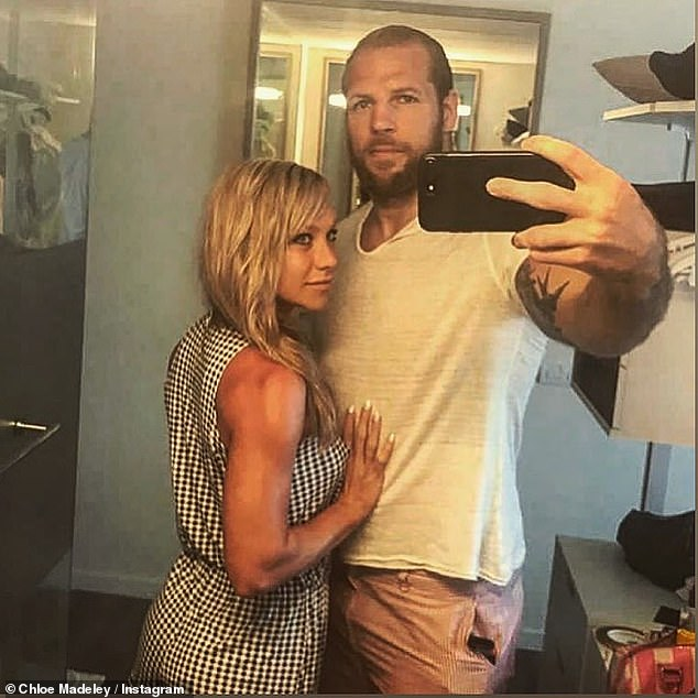 Venture: Chloe and her husband James Haskell and the couple created a podcast called Couples Quarantine focusing on the challenges facing couples who now work at home