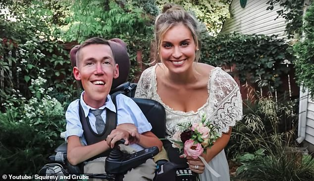 They do!Shane Burcaw, 27, and Hannah Aylward , 24, got married this weekend