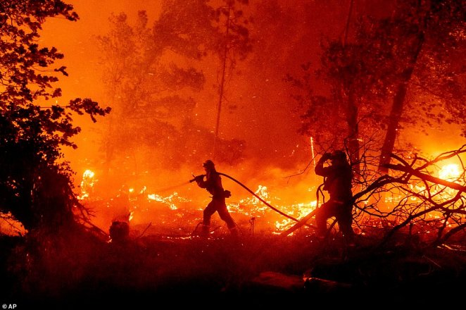 The blazes have burned more than 1.5 million acres ¿ or 2,434 square miles, destroyed nearly 3,300 structures and caused eight deaths