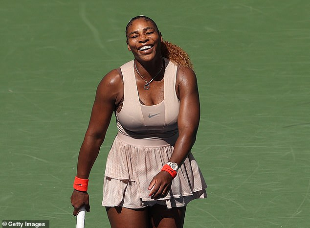 But Williams won 6-3 in the deciding set to throw off the challenge of Sakkari after over 2 hours