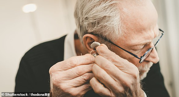 Hearing tests are free on the NHS. You can be referred to a hospital audiology department by your GP or have online or in-person tests from High Street audiologists, but they are not offered routinely [File photo]