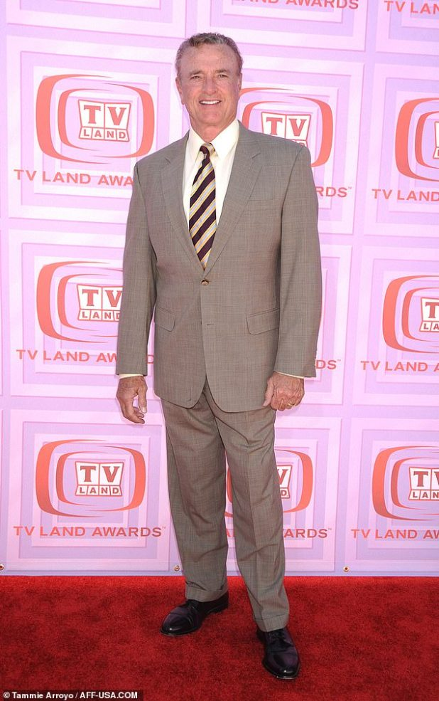 RIP: Kevin Dobson has died at the age of 77, and is known for his roles in the CBS drama Not Landing and Kojak, as well as appearing on Days of Our Lives (pictured above in 2009)