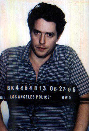 Hugh Grant was pulled over by police