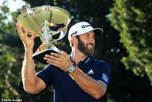 Dustin Johnson has scooped the huge cash prize after winning the FedEx Cup at East Lake