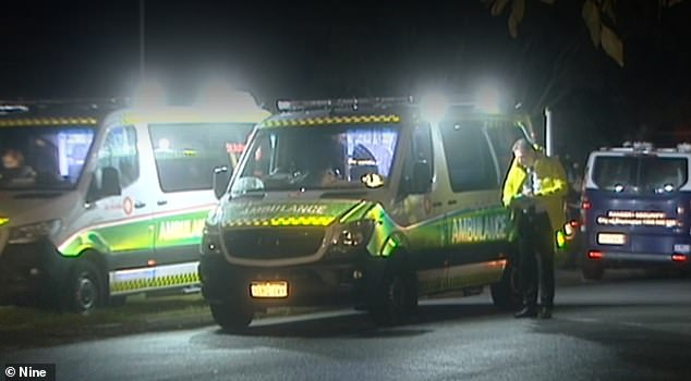Emergency services were called to a home on Halvorson Street, Morley, 10km northeast of Perth's CBD, at 8pm on Monday