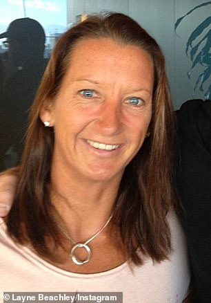My how you've changed! Champion surfer Layne Beachley looked almost unrecognisable as she appeared on Today Extra on Monday