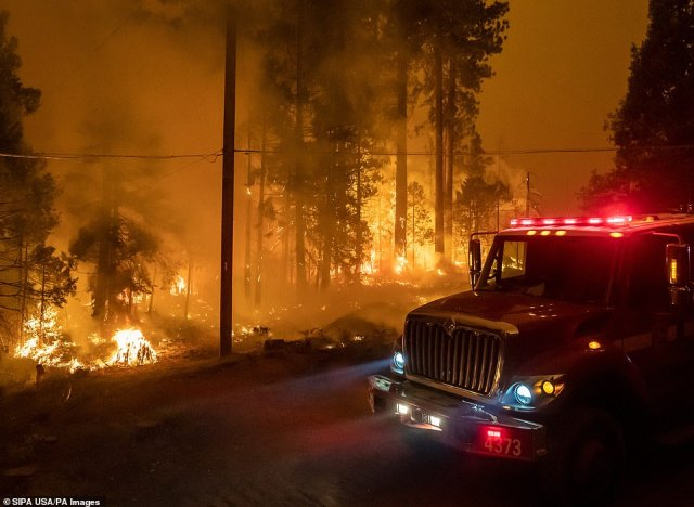 The Creek Fire has consumed at least 73,000 acres since the sparks were first lit on Friday evening
