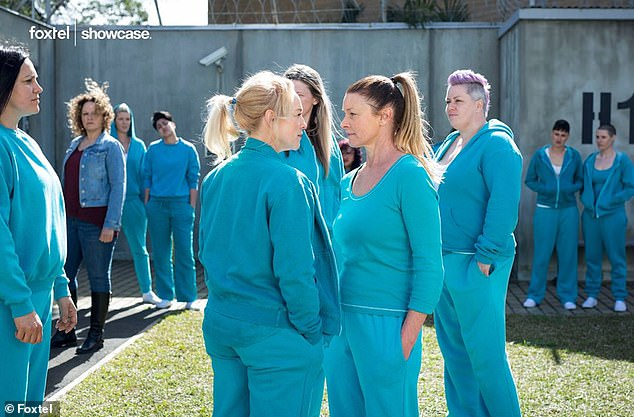 Award winning series: Wentworth, which is a fresh take on iconic 1980s series Prisoner, has garnered plenty of critical acclaim - winning over several AACTA and Logie awards over the years