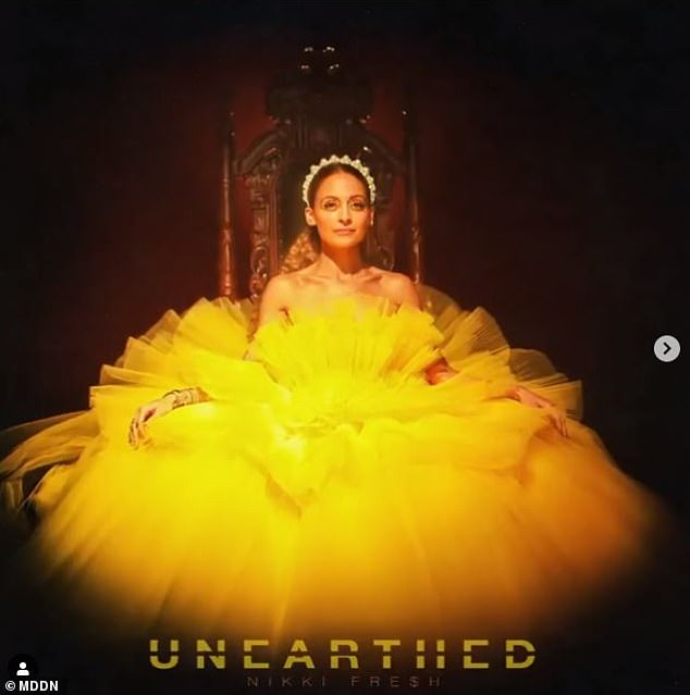 Thanks, hon! Joel's management company, MDDN, released Richie's 13-track debut comedy rap album Unearthed on August 28 under the alias Nikki Fre$h