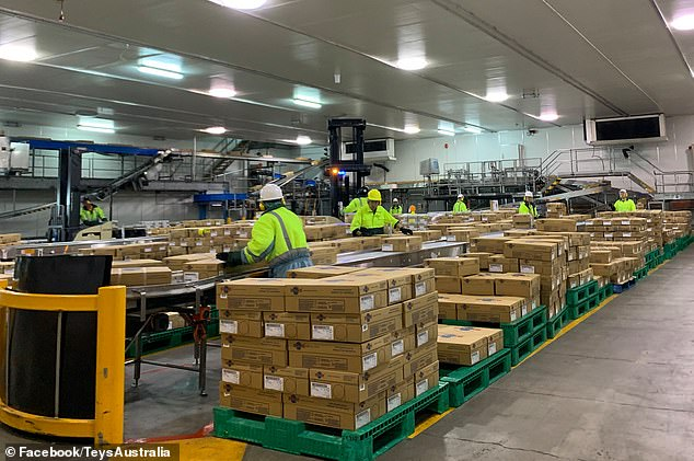 Australia's biggest meat processor, Teys Australia (processing room pictured) has laid blame on the JobSeeker payment after being unable to fill 150 job vacancies while the national unemployment rate sits at 7.5 per cent
