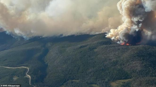 The Cameron Peak Fire, west of Fort Collins in Colorado, is now one of the largest wildfires in the state's history