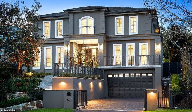 Three-storey home on Flinders Street in St Ives goes up for auction on September 19 with large crowd expected to turn out