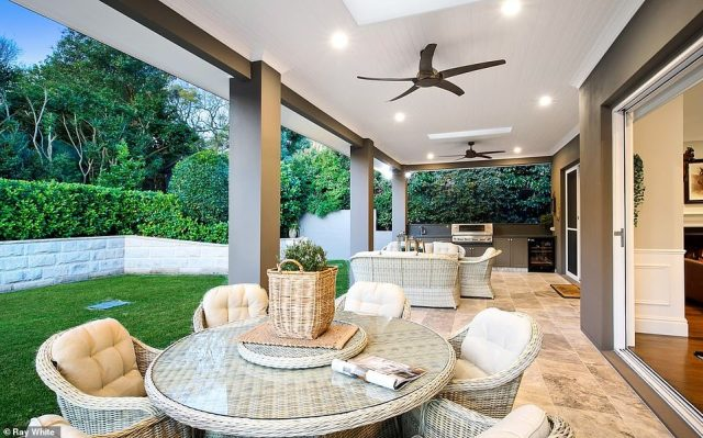 For the lady of the house, there are also custom built-in wardrobes, stone top benches, a freestanding bath and an array of entertaining space indoors and out