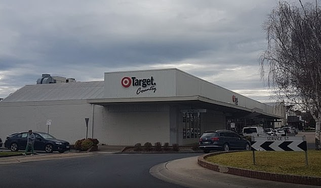 Target in Bairnsdale (pictured) will shut down early next year, leaving locals with few retail options for kilometres