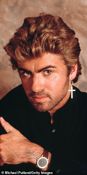 George Michael pictured in 1987