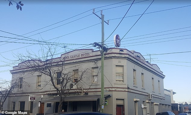 The Mona Castle (pictured) owner was forced to close the pub after not being able to pay the rent. He criticised the Victorian Government for neglecting small businesses during COVID-19