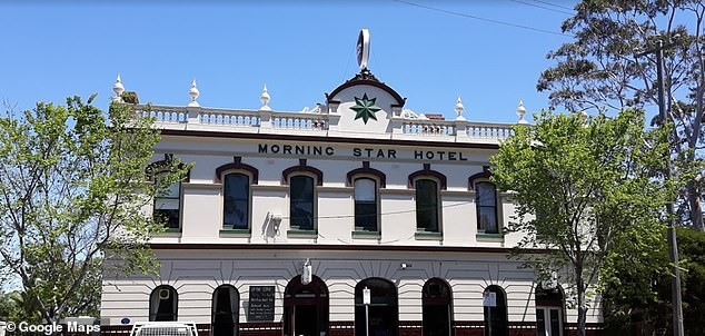 Two beloved Melbourne pubs, The Morning Star Hotel (pictured) in Williamstown and the Mona Castle Hotel in Seddon, have been forced to close amid the draconian second lockdown