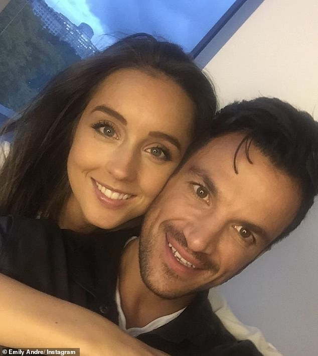 Baby plans: Peter Andre's wife Emily has revealed she has been 'put off' from having another baby during the coronavirus pandemic