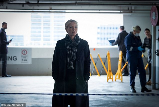 Star: In the series, Mavournee will portray Jane Halifax's stepdaughter. When her father Ben dies, it puts their relationship on edge. Pictured: Rebecca Gibney