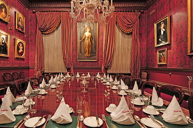 The businesswoman has now instructed lawyers to seek an injunction preventing the Garrick Club (pictured) from 'continuing to operate its discriminatory' and 'unlawful' policy