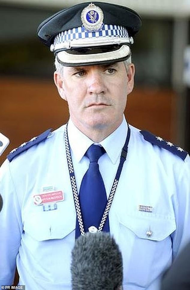 Detective Inspector Bryson Anderson (pictured) was stabbed to death in Oakville in northwestern Sydney in 2012