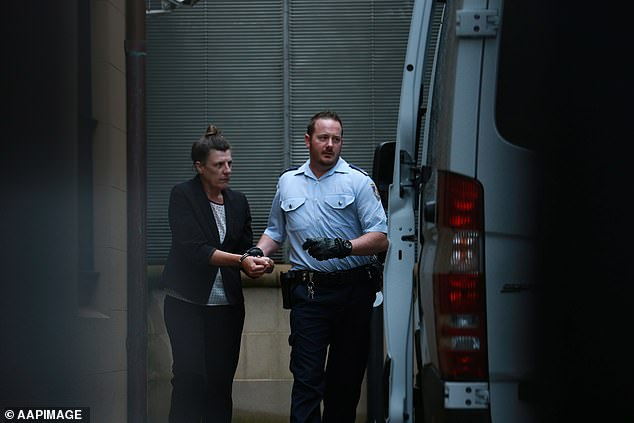 Fiona Barbieri (pictured) will be released from jail on September 13 over her involvement withDetective Inspector Bryson Anderson's murder