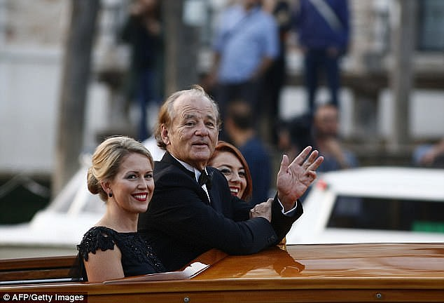 In 2014, the 39-year-old was carried to the Clooneys' star-studded Venetian wedding in a boat with Bill Murray and asked to carry out bridesmaid's duties