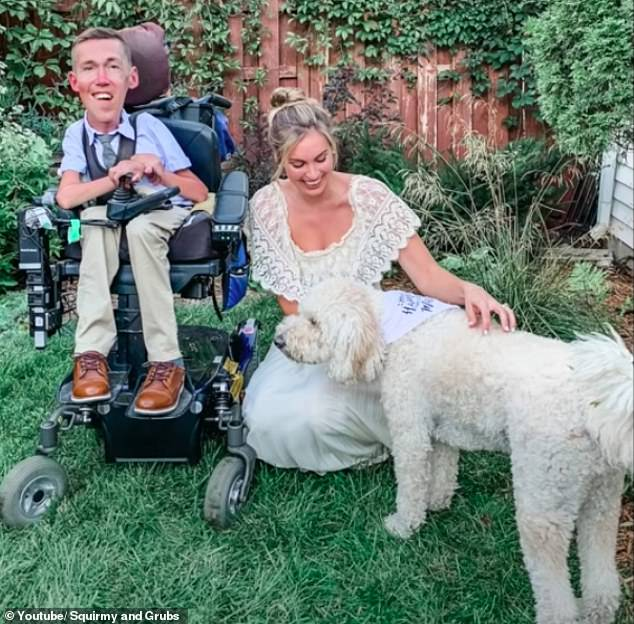 'Disabled people are worthy partners,' Hannah said, adding that they will keep sharing their story