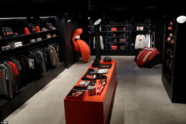 Bravado CEO Mat Vlasic said the store was the result of an 'innovative partnership which adds yet another cultural touchpoint to the band's rich legacy'