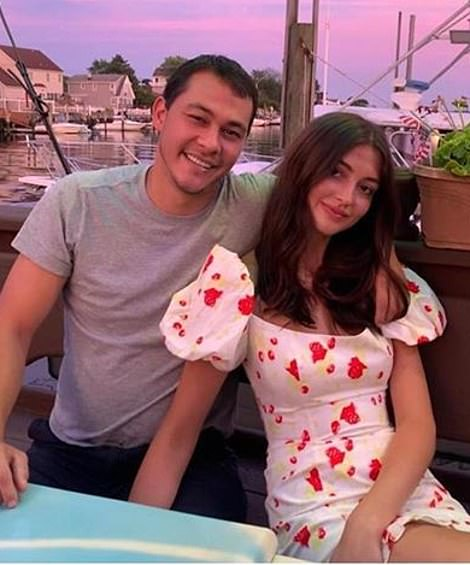Until recently, Vitolo Jr. was dating fashion designer Rachel Emmons.  She has been featured in an Instagram post since July 27