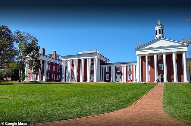 Washington and Lee University (above) has defended its course titled 'How to Overthrow the Government, which requires students to write a revolutionary manifesto