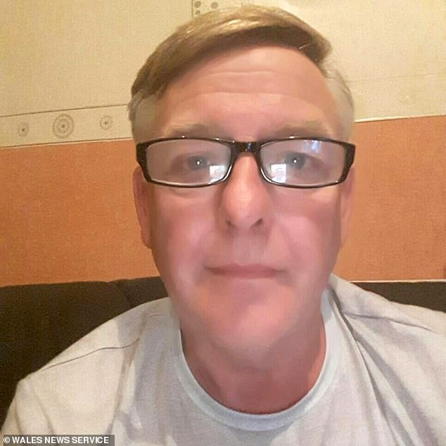 Married primary school teacher Clive Beattie is alleged to have sent three waist-down naked selfies to a schoolboy's mother