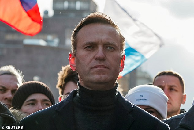 AlexeiNavalny, 44, was in Novosibirsk last month to promote opposition candidates before he fell ill with apparent Novichok poisoning