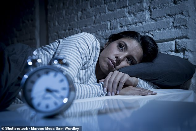 People who struggle to get a good night's sleep are significantly more likely to develop type 2 diabetes, even if they are a healthy weight, research suggests (file)