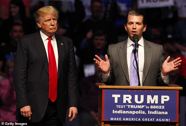 Disloyal features eye-popping anecdotes about Trump¿s anger towards Don Jr, dating back to the mid 2000s when he oversaw their failed venture into the mortgage market, Trump Mortgage LLC.Trump fumed that ¿Don Jr. has the worst f****** judgement of anyone I have ever met¿